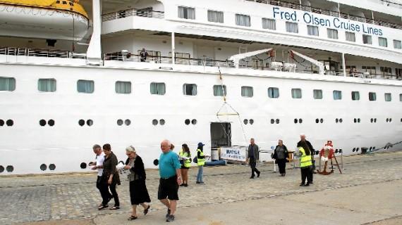 El Puerto de Huelva participa en una convención sobre turismo de cruceros en Hamburgo
