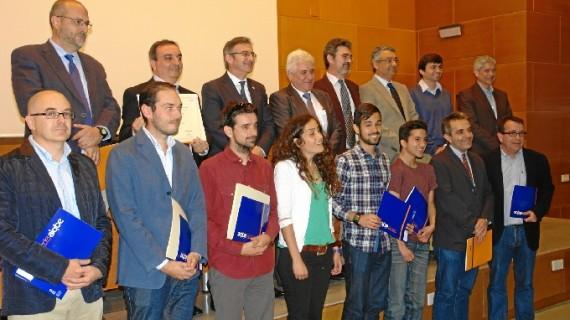 Los profesores Joaquín Rodríguez y Enrique de Miguel galardonados con los premios de investigación de la Cátedra AIQBE