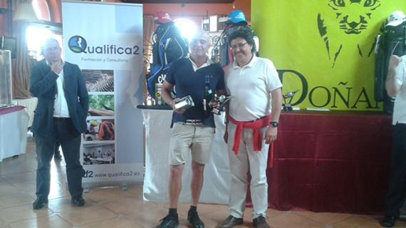 Cristóbal Guerrero Vidarte, ganador scracht del IV Campeonato de Golf Ciudad de Valverde