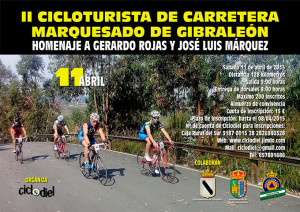 Cartel anunciador del evento que tendrá lugar en Gibraleón.