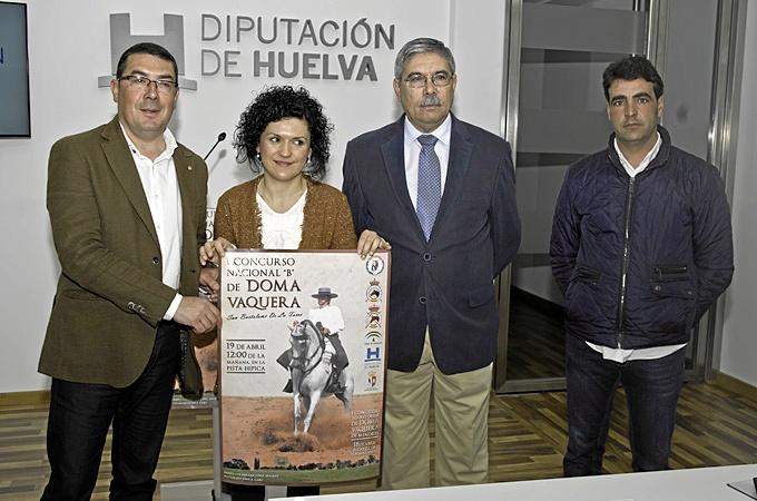 Presentación del I Campeonato Nacional B de Doma Vaquera de San Bartolomé.