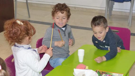 Exitoso taller de arte infantil impartido en la casa natal de Juan Ramón Jiménez