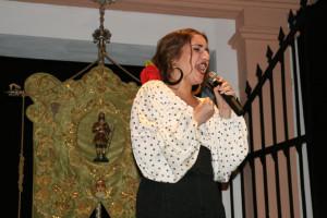 Actuación de María del Carmen González Vento.