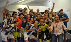 El Sporting afronta con enorme ilusión y ganas la final de la Copa de la Reina. / Foto: J. Arrazola.
