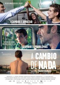 Cartel de la película 'A cambio de nada'.
