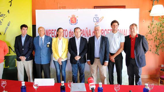 Un total de 138 jugadores inscritos en el Campeonato de España de Profesionales de Golf en Matalascañas