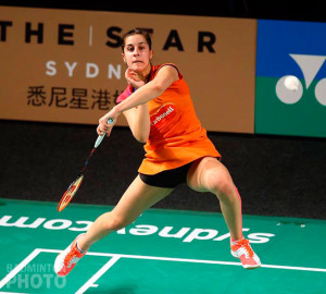 Carolina Marín sigue adelante en el Superseries australiano. / Foto: Badminton Photo.