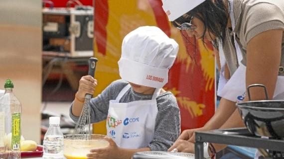El grupo 'Las Guerreras' consiguen el premio a la mejor tortilla