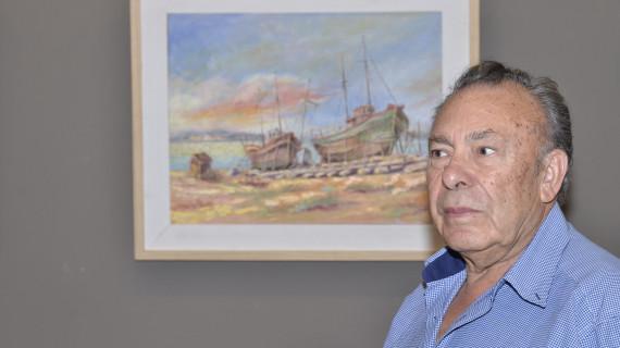 La Galería Passage de Ayamonte acoge la muestra pictórica de dos artistas locales