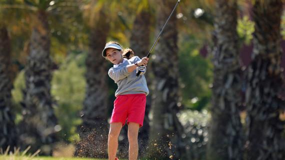 Triunfo de la ayamontina Laura López en la cuarta prueba del Pequecircuito de Andalucía de golf