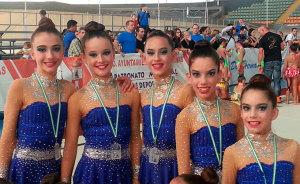 Las chicas del Rítmico Colombino esperan hacer un buen papel en el Campeonato de Andalucía por equipos.