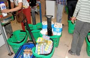 El Economato de la asociación Resurgir beneficia a multitud de familias desfavorecidas de la provincia de Huelva.