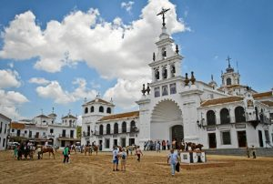 El Santuario de Nuestra Señora del Rocío. /Foto: J.Norte