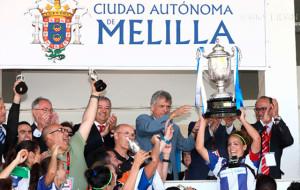 El mejor recuerdo de Toledo, el triunfo en Melilla en la Copa de la Reina.