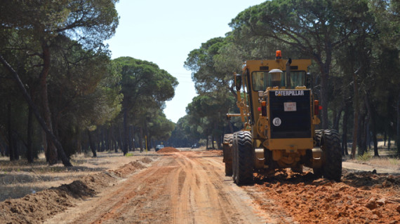 Punta Umbría recupera el camino de acceso a Salinas del Astur