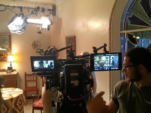 El rodaje se desarrolló íntegramente en Rociana del Condado.