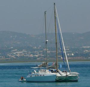 """Retrospectiva del catamarán """"Gandul""""./Foto: www.pasaporte3.com"""