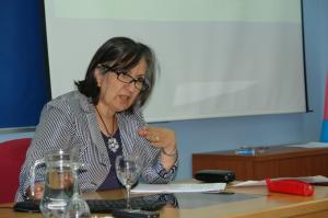 Conferencia de la profesora Amèlia Simões.