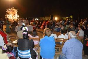 Misa de romeros en La Matilla.
