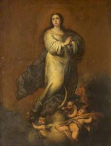 Inmaculada Concepción de ALonso Miguel de Tovar.