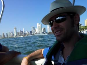 Bailón también ha visitado Cartagena de Indias (Colombia).