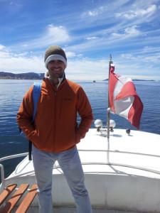 Pepe ha conocido el lago navegable más largo del mundo, el Titicaca, en Perú.