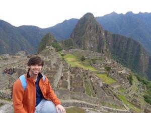 En el Machu Picchu.
