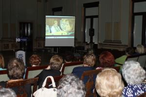 Imagen del taller de 'Videoforum'.