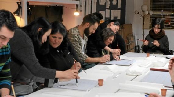 Una veintena de artistas se dan cita en la muestra 'Desencadenadas Palabras: un juego artístico'