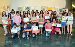 Ganadores de los premios nacionales de las Fundaciones Flores Jimeno y Caja Rural del Sur.