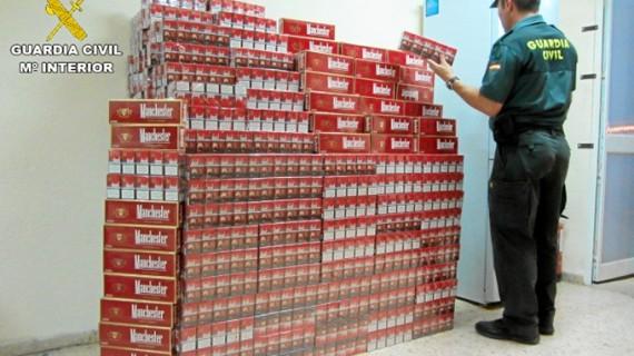 Intervenidas 27.652 cajetillas de tabaco de contrabando en un año en Huelva