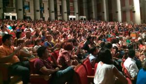 Más de 800 personas se dieron cita en la Casa Colón.