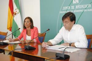Rueda de prensa de María José Bejarano.