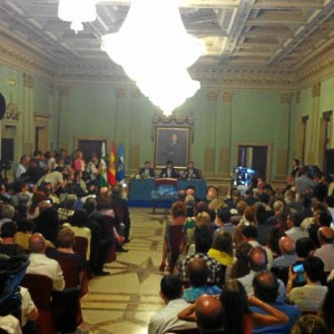 Constitución de la nueva corporación municipal del Ayuntamiento de Huelva.