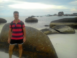 Licenciado en Telecomunicaciones, el onubense lleva cinco años fuera de Huelva.