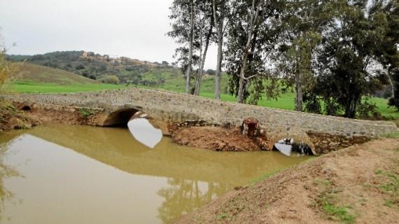 Restaurado el 'Puente medieval' del camino La Puente en Ayamonte