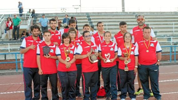 El CODA cosecha 12 medallas y el subcampeonato femenino por clubes en el Nacional de atletismo