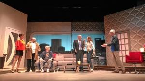 Escena de la obra 'Taxi', que llega al Gran Teatro el próximo fin de semana.