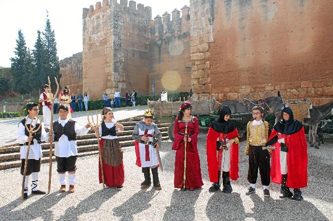 El programa 'A Escena!' abre las puertas del Castillo de Niebla con su I Muestra Infantil de Teatro y Danza