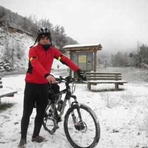 Quino Sánchez es un gran aficionado al ciclismo.