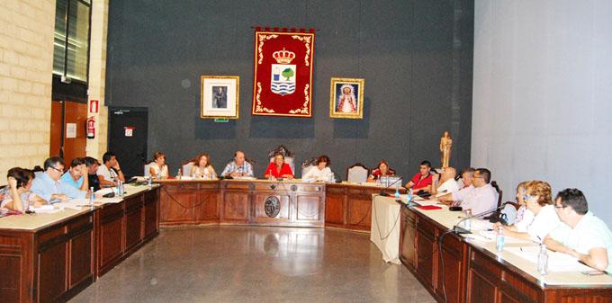 Pleno en el Ayuntamiento de Isla Cristina.