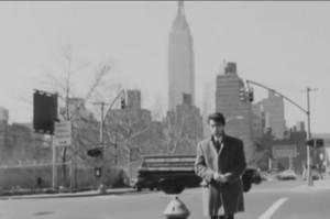 En sus tiempos de corresponsal en Nueva York.