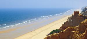 Un tramo del litoral onubense.