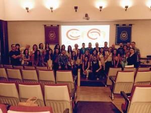 El CIPI durante la presentación de su último informe en la Universidad de Málaga.