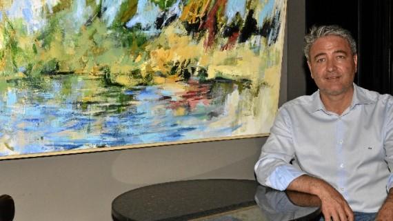 El artista Rafael Campanario muestra su primera individual en Ayamonte