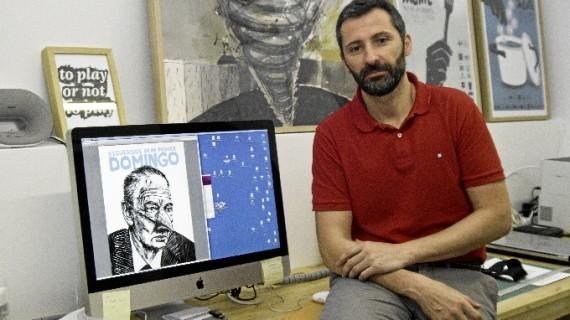 David Robles homenajea a los abuelos y a la generación de los 80 en su primera novela gráfica