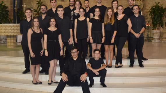 Solistas de la Escuela Municipal de Punta Umbría llenan de música la iglesia del Carmen