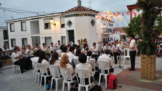 Zalamea la Real celebra su verbena de San Juan