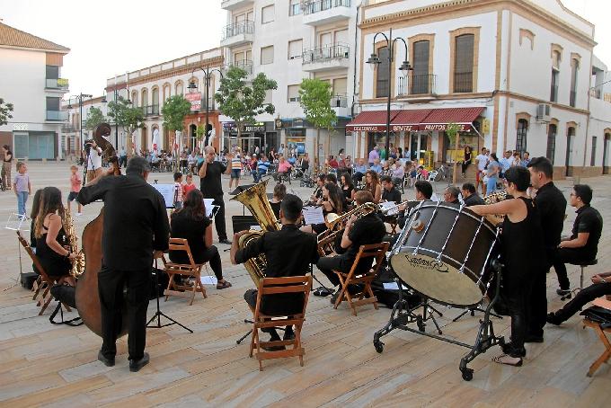 Un concierto de pasodobles pone fin al curso de la Escuela Municipal de Música de San Juan