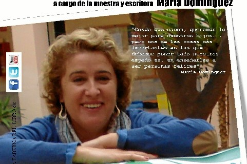 María Domínguez ofrece la conferencia 'Trucos para enseñar a tu hijos a ser más felices'